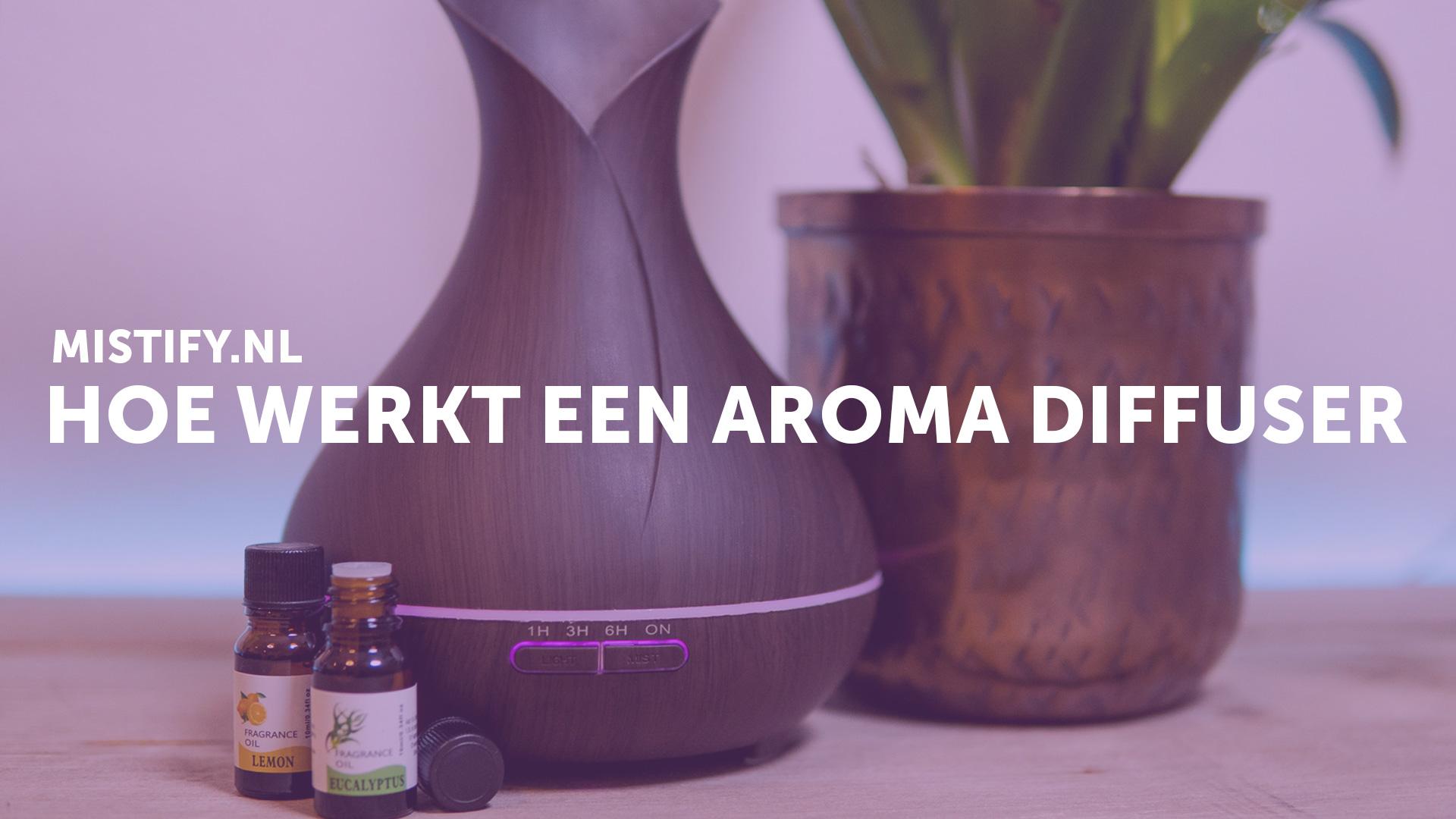 Hoe werkt een aroma diffuser?